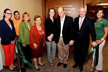 Kornspan Study Lounge Ribbon Cutting