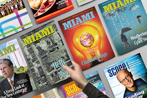 Our digital and printed magazines
