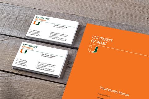 Visual Identity University Communications University Of Miami